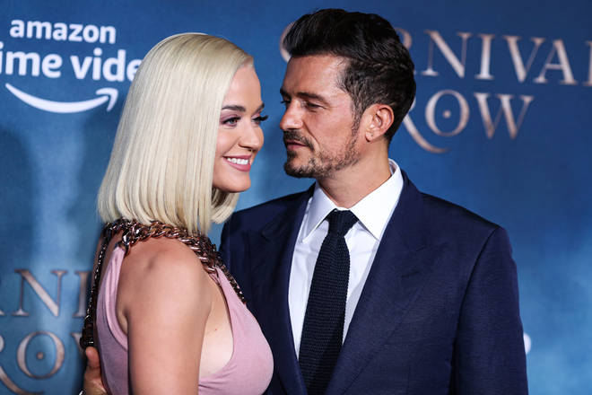 Katy and Orlando shared the news of their daughter's birthday last week on Instagram