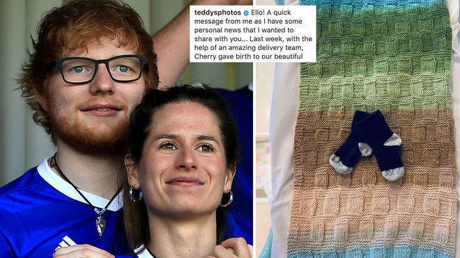 Ed Sheeran and wife Cherry Seaborn have announced the birth of their baby girl