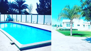 Inside Peter Andre's Cyprus home