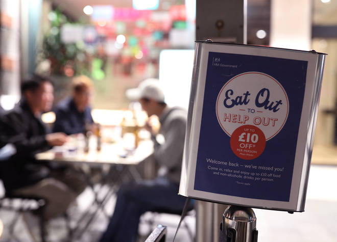 The Eat Out To Help Out scheme has come to an end