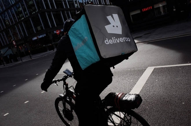 Deliveroo's scheme will run throughout September