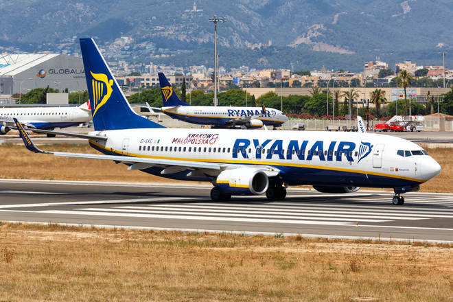 Ryanair are grounding hundreds of flights on Friday.