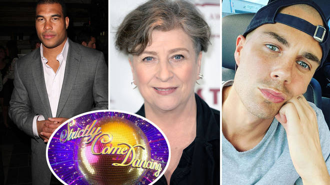 The first three celebrities taking part in Strictly Come Dancing have been announced