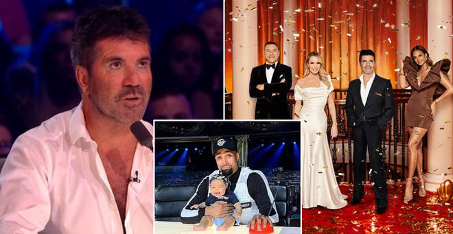 Simon Cowell is not on the Britain's Got Talent finals