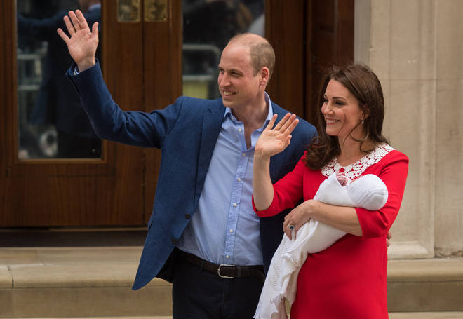 Prince William and Kate welcomed their third child in April