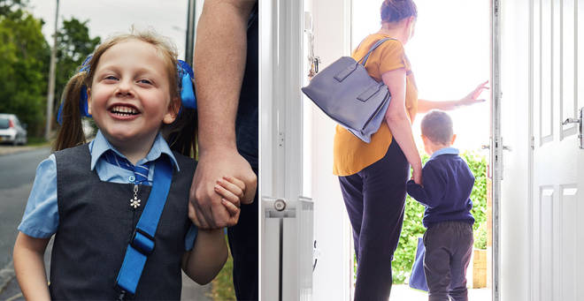 Can you be fined for not sending your child back to school? (stock images)