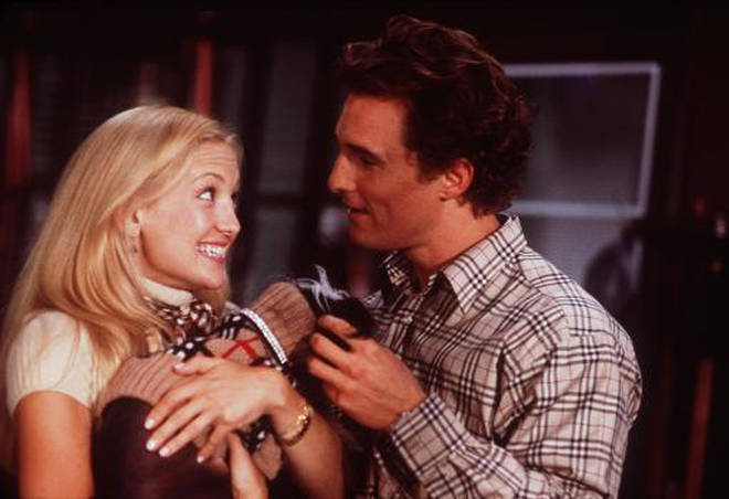 Kate starred alongside Matthew McConaughey in the 2003 film