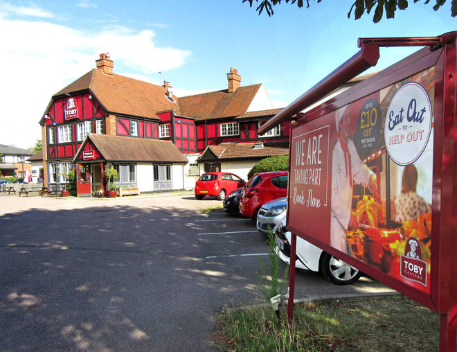 Toby Carvery has extended its Eat Out To Help Out scheme