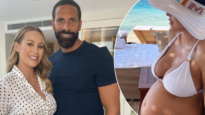 Inside Kate Ferdinand's pregnancy journey with husband Rio Ferdinand