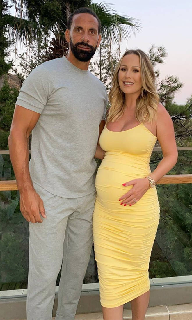Kate Ferdinand is due to give birth in December 2020