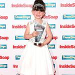 Amelia Flanagan at the 2015 Inside Soap Awards