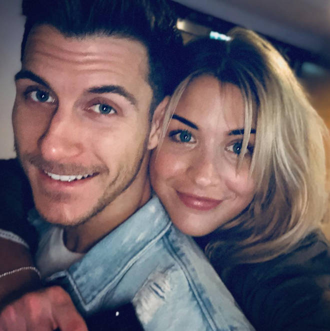 Gemma Atkinson and Gorka Marquez met during Strictly 2017