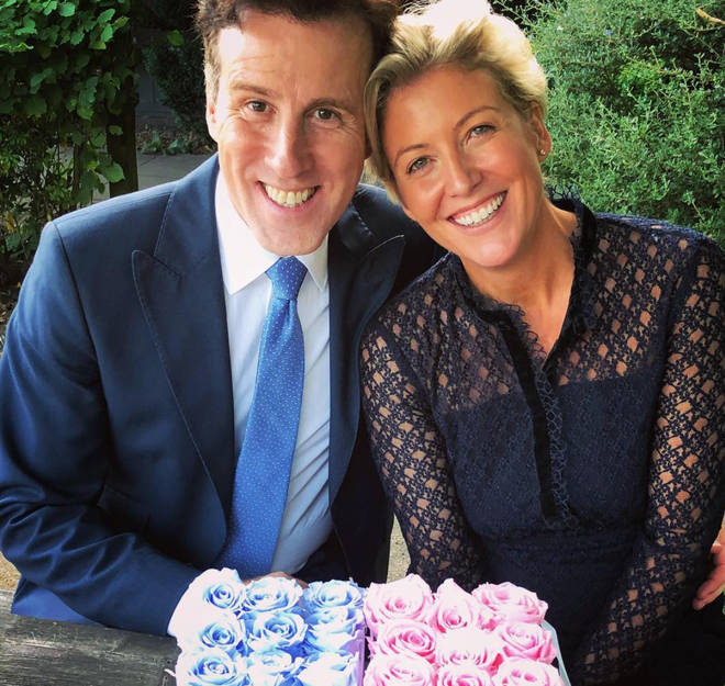 Anton Du Beke and wife Emma Summers