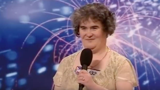 Susan Boyle auditioned for Britain's Got Talent in 2009