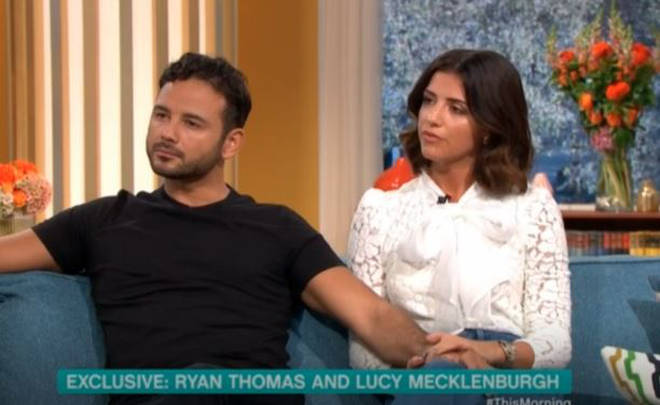 Ryan Thomas appeared on This Morning with girlfriend Lucy Mecklenburgh