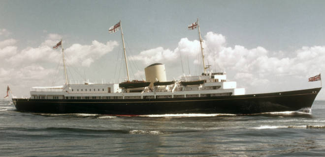 The Royal Yach Britannia which was decommissioned in 1997