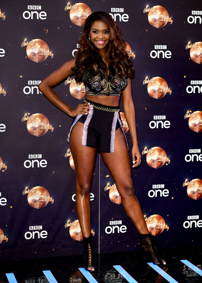 Oti Mabuse is hoping to nab first place with Graeme Swann this year