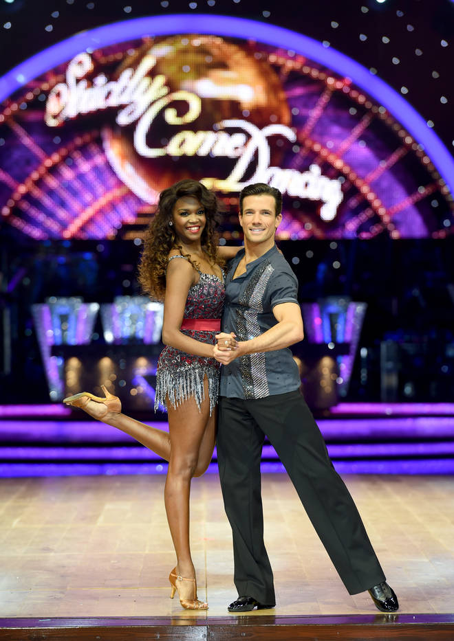 Oti came 2nd with partner Danny Mac.