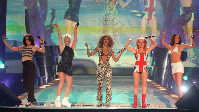 The Spice Girls were the biggest band of the 90s