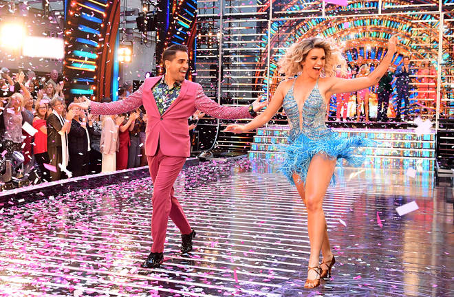Dr Ranj and Ashley Roberts on Strictly 2018