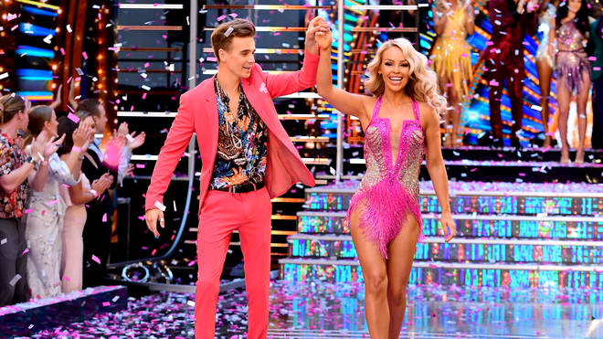 Joe Sugg and Katie Piper on Strictly 2018