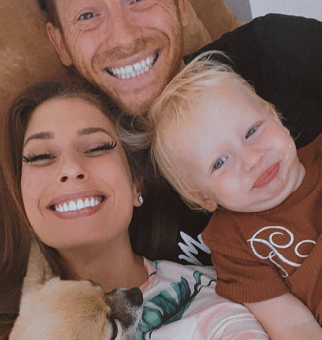 Joe Swash and Stacey Solomon welcomed a son last year