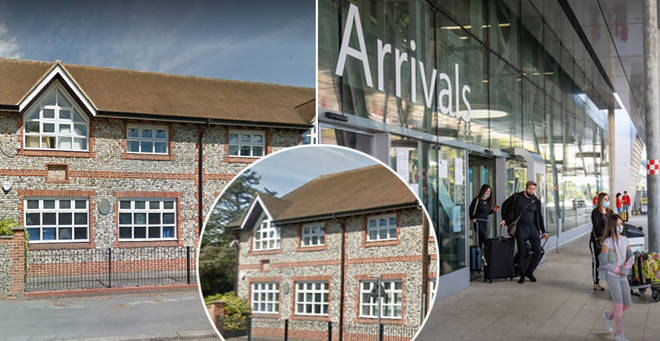 Children at a school in Buckinghamshire are having to quarantine