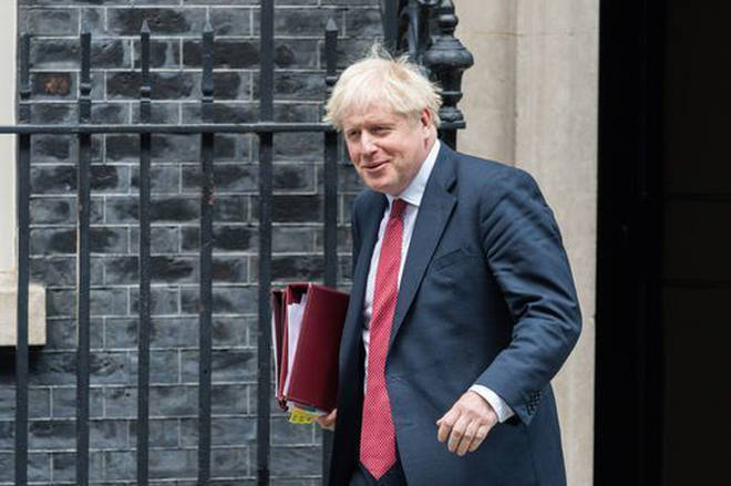 Boris Johnson has urged the UK to get back into the office