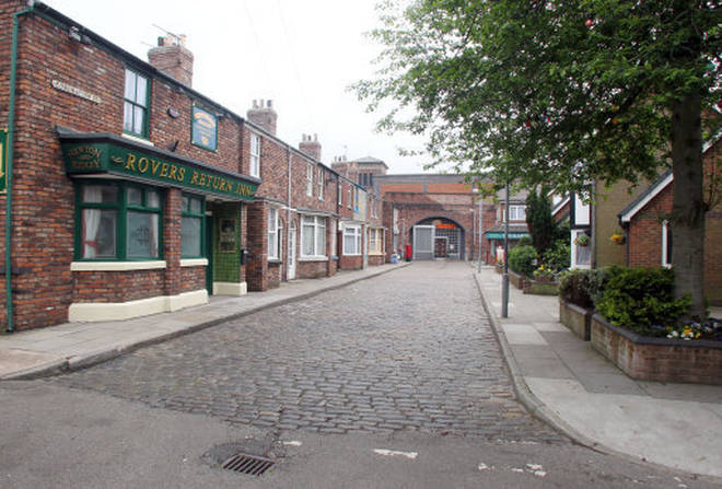 Coronation Street was forced to stop filming back in March