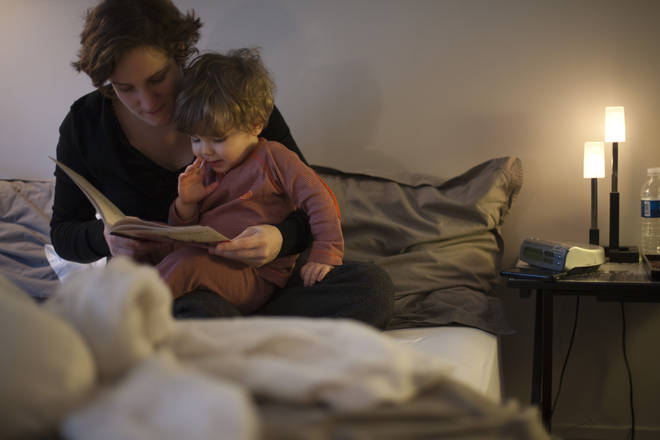 Parents send their kids to bed at 7:50pm on average