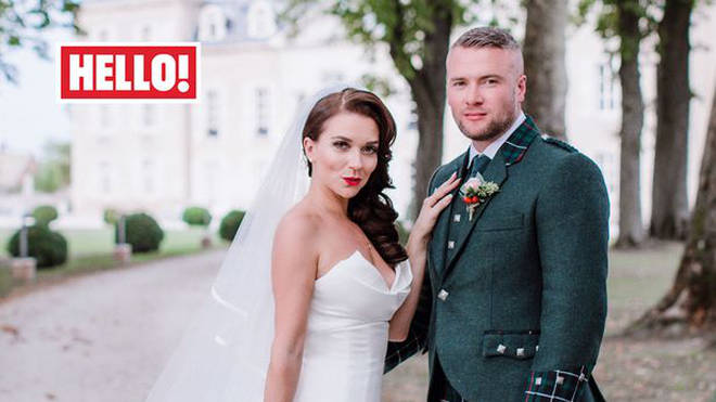 Candice Brown and her now husband, Liam McCaulay