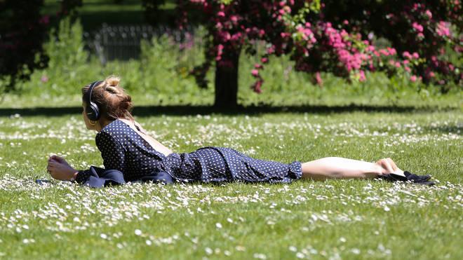 Temperatures could reach the mid twenties next week