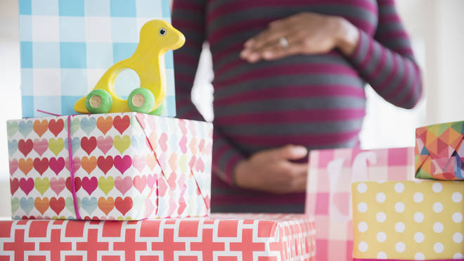 A woman has blasted her friend for announcing her pregnancy during a baby shower