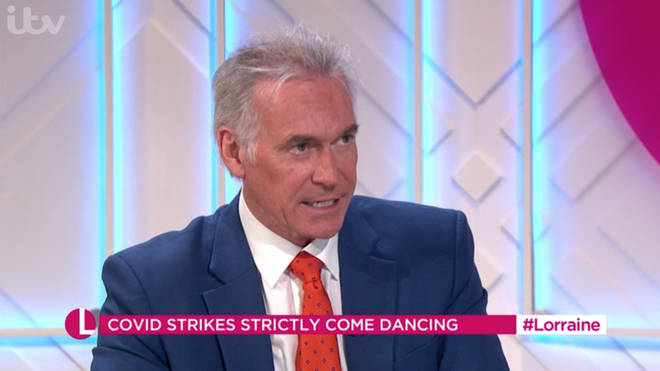 Dr Hilary spoke to Lorraine about reports of a crew member on Strictly Come Dancing testing positive for coronavirus