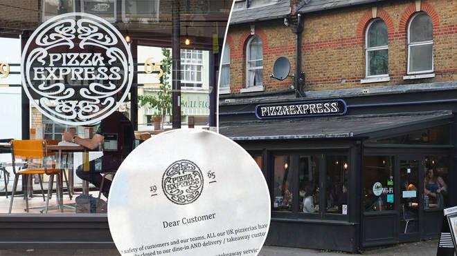 Pizza Express is shutting 73 restaurants