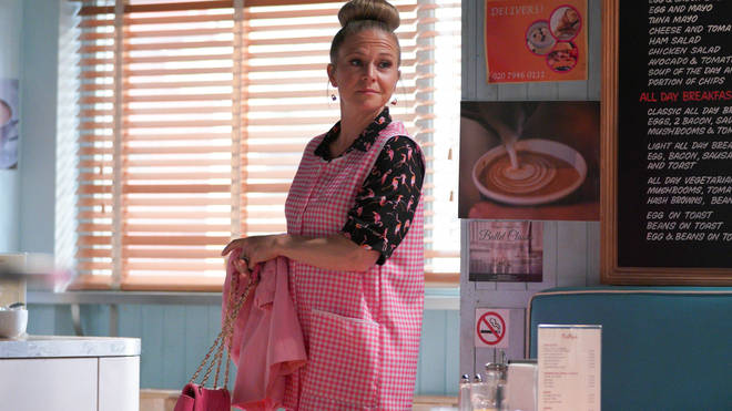Linda Carter sold The Queen Vic in the last EastEnders episode