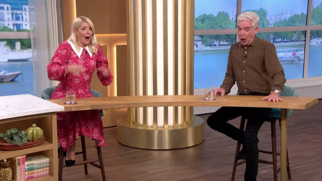 Holly Willoughby and Phillip Schofield were left gobsmacked