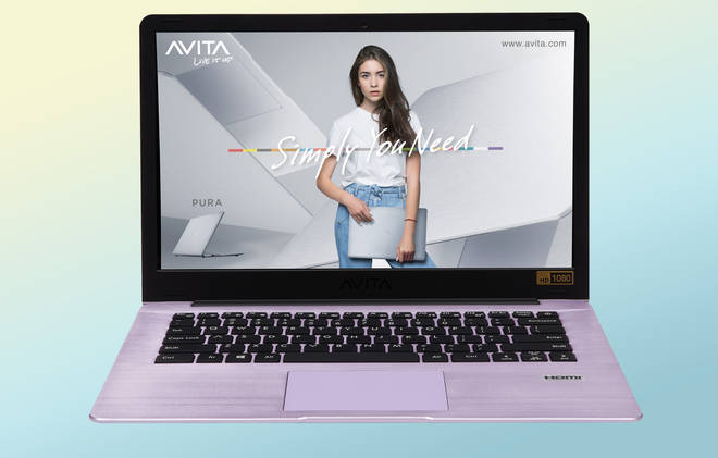 The AVITA Pura 14 is perfect for streaming, working from home and video calls