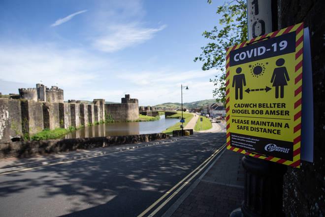 Coronavirus Lockdown in Caerphilly
