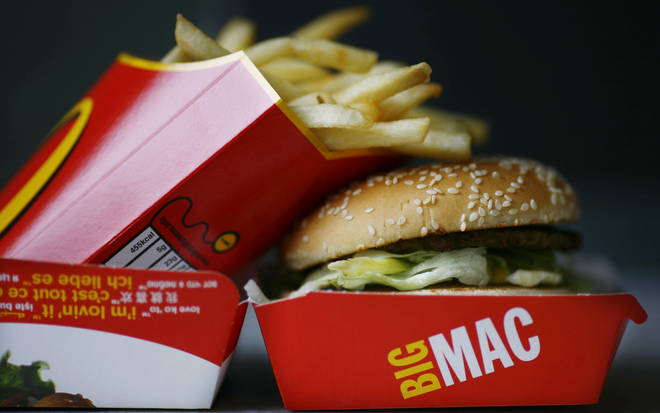 Big Macs could be reduced in size by 20 per cent (stock image)