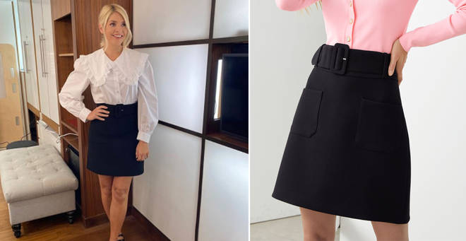 Holly Willoughby's skirt is from & Other Stories