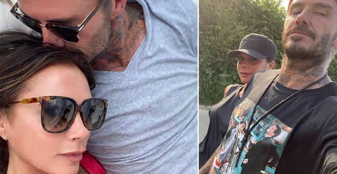 David and Victoria reportedly caught coronavirus while in LA