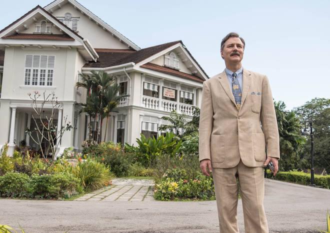 Some scenes from The Singapore Grip were shot in Carcosa Seri Negara