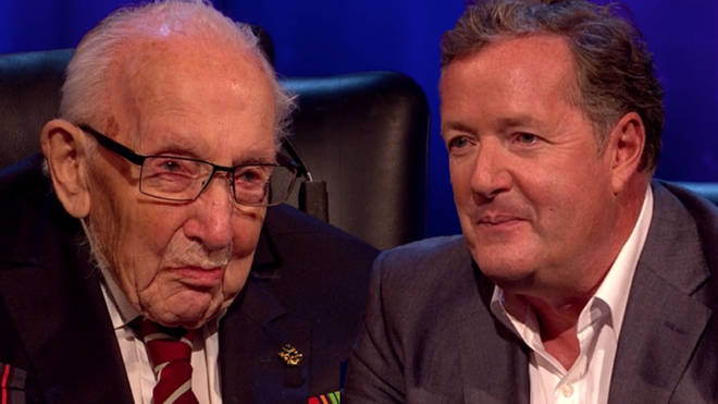 Captain Tom Moore will appear on Piers Morgan's Life Stories this weekend