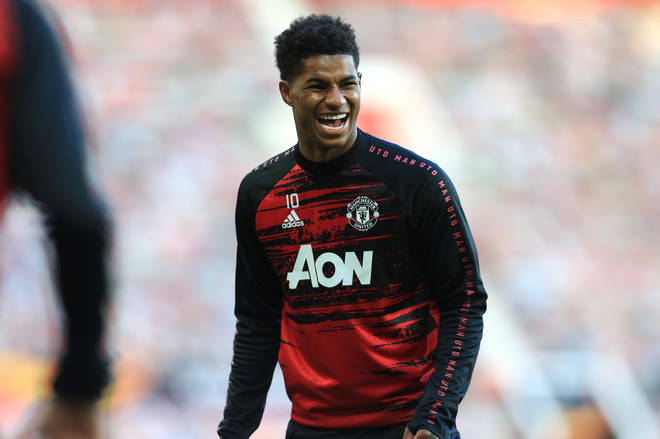 Footballer Marcus Rashford has taken on the fight against childhood food poverty