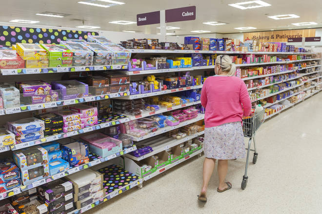 The survey also looked at bigger shops at the major supermarkets (stock image)