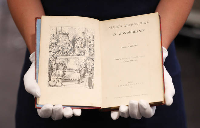 A first edition of Alice's Adventures in Wonderland by Lewis Carroll could fetch you over £4,000