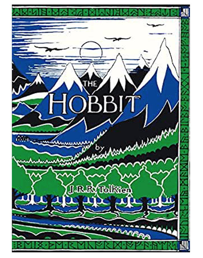 A first edition of The Hobbit by J.R.R Tolkien could make you over £5,000