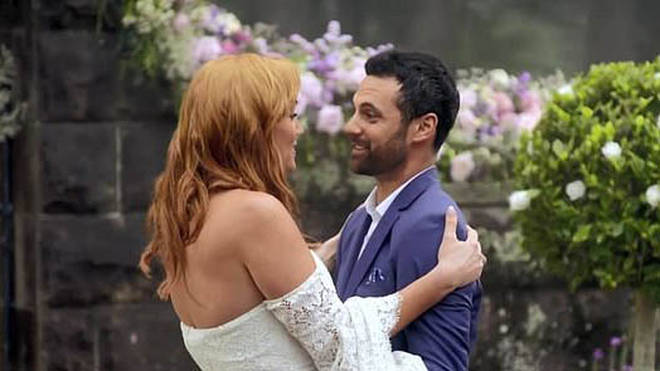 Jules Robinson and Cameron Merchant were on Married at First Sight Australia in 2019