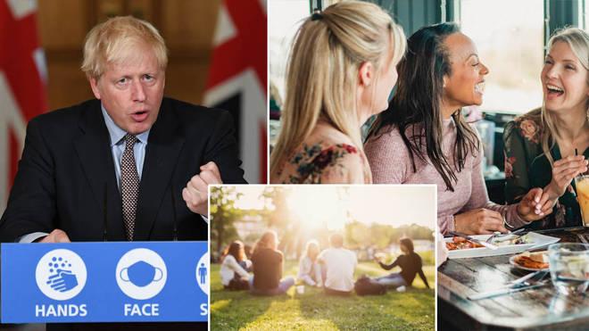 Boris Johnson has announced new lockdown rules in England